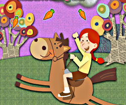 Pony Adventure game in flash