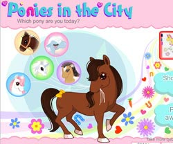 Pony Quiz game in flash