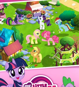 My little pony tv show paardenspel app